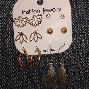 Floral Bohemian Earring Set